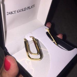 24k Gold Plated Earrings